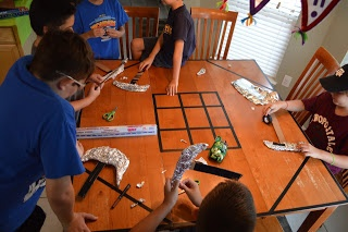 Dad-Geek-Gamer: In That Order: Minecraft Birthday Party v1.0 Scavenger Hunt