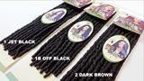 "Bobbi Boss Crochet Braiding Hair | Bomba Faux Locs Soul 18"" – HAIRSOFLY"