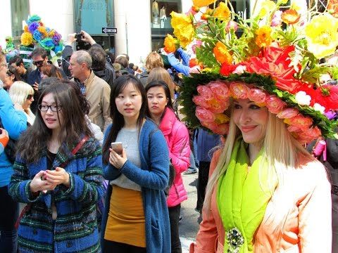 Easter Bonnet Parade with Neon & Tanna Valentine, New York City