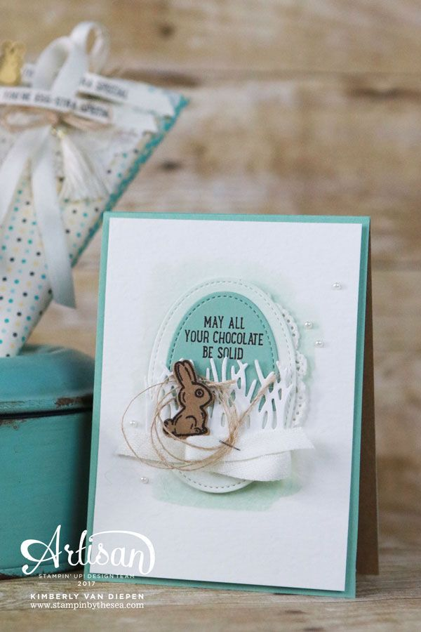 Basket Bunch stamp set from Stampin' Up! is the perfect stamp set for your Easter projects. Enjoy this stamp set with the coordinating framelits.