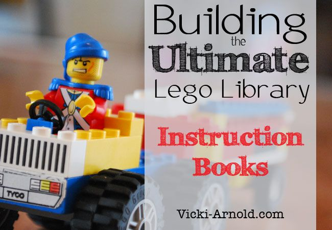 Building the Ultimate Lego Library: Instruction Books