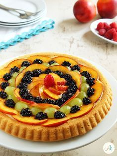Torta Californiana - crostata morbida alla frutta | Aryblue