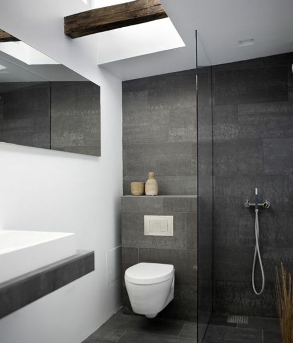 25+ Best Ideas About Kleines Bad Fliesen On Pinterest ... Badezimmer Klein Modern