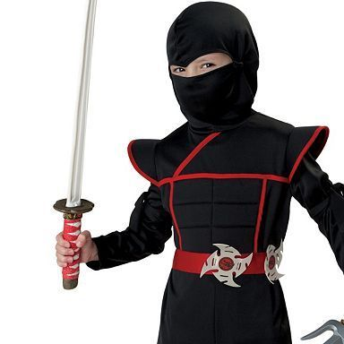 17 best ideas about ninja costumes for boys on pinterest. Black Bedroom Furniture Sets. Home Design Ideas