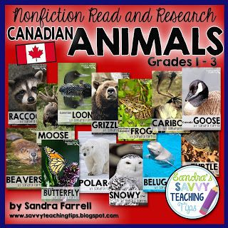 Canadian Animal Research Bundle. What a great deal. Get $42 worth of products for 19.99!!!!! More than 50% savings!!! • Want to develop beginning research skills? • Want to work on deepening Life Science concepts? • Want to develop non-fiction reading and writing skills? If that is what you are looking for, then this product is for you!