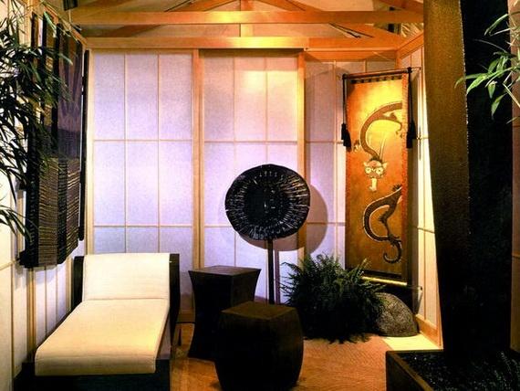 Asian Living Room Interior Design Ideas · RaumgestaltungWohnzimmerinnenraum InnendekorationDeko ...