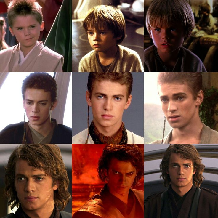 Anakin Skywalker, The love of her life.