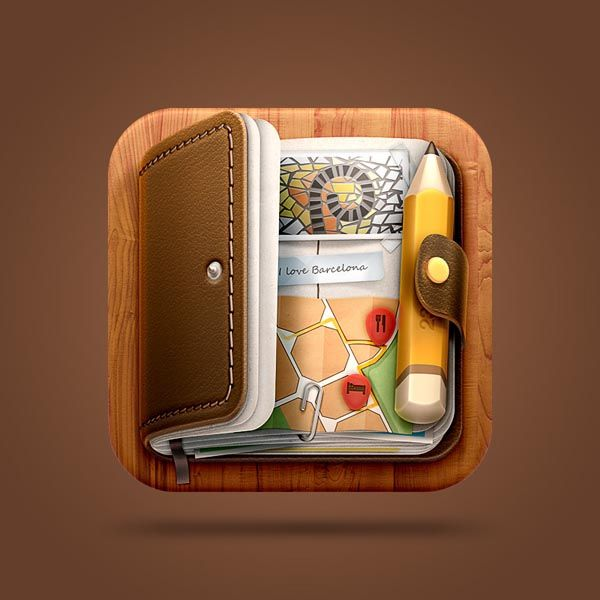 Journal iOS Icon Design by Román Jusdado