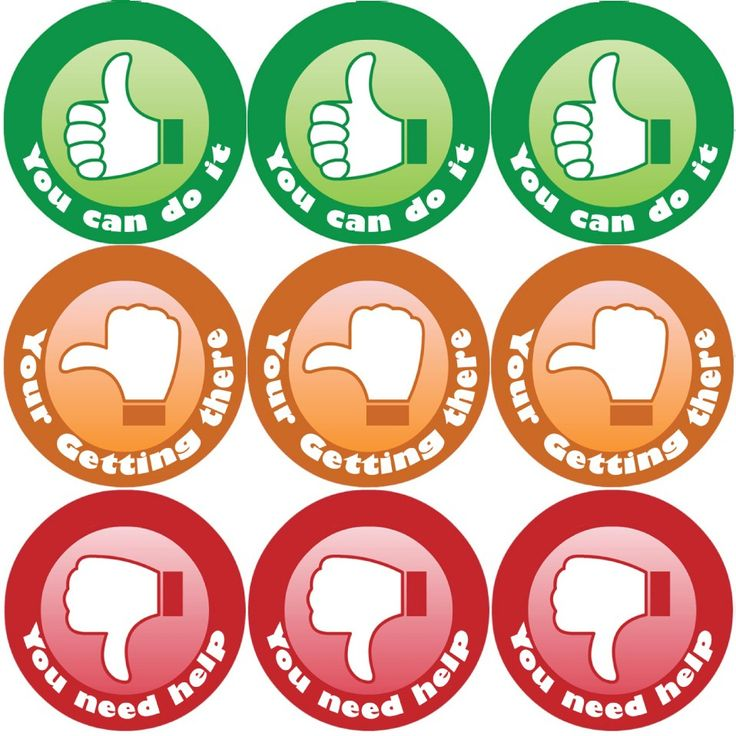 <p>These colourful Thumbs reward stickers are perfect to make a big impression on young learners and can be used with any Reward System.</p>