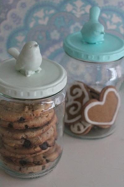 leuke manier om koekjes, zelf gemaakt, kado te doen.