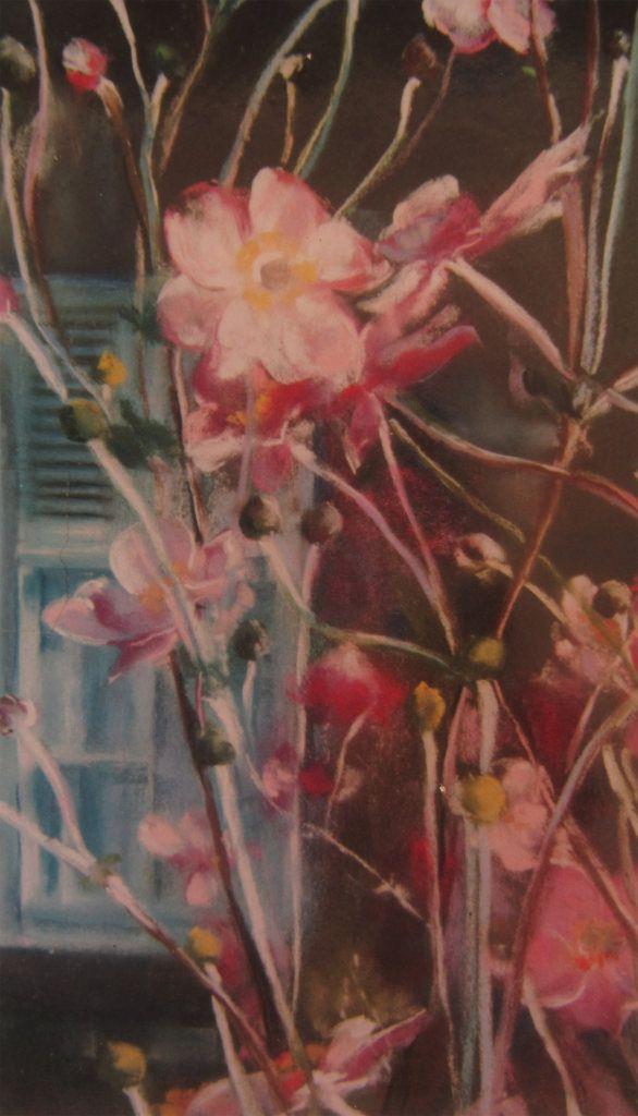Les fleurs peinture au pastel sec par isabelle douzamy collection priv e artistes peintres - Peinture au pastel sec ...