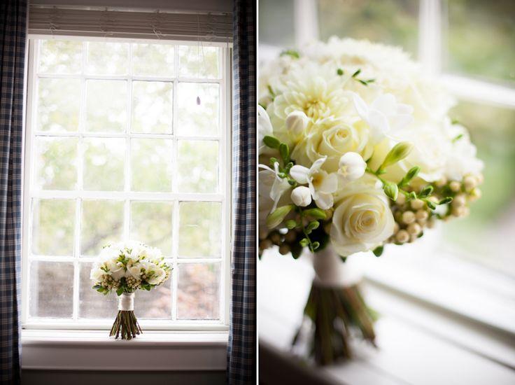 Inn on the Twenty Vintage House bride's bouquet