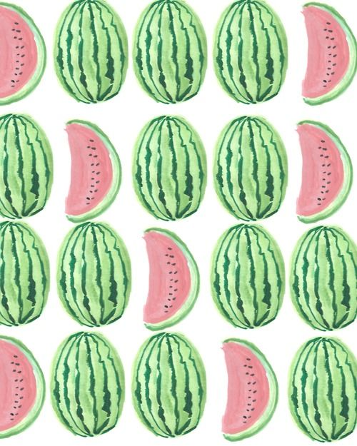 TO INSPIRE | Watermelons by Kendra Dandy #designsponge #dssummerparty
