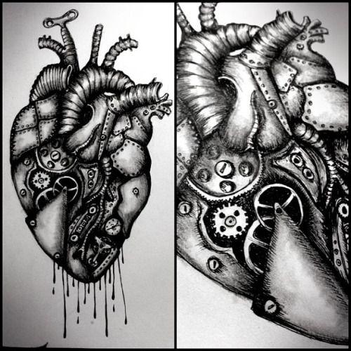 anatomical heart # heart # anatomy # anatomical # clockwork ...