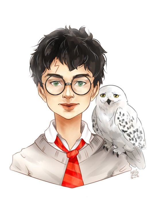 Harry Potter by kat's illustrations