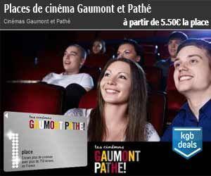 Deal groupé sur les places de cinéma Gaumont et Pathé : à partir de 5,50 euros la séance   Maxi Bons Plans