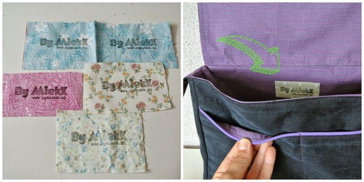 Sew Natural Blog: DIY - Fabric Labels