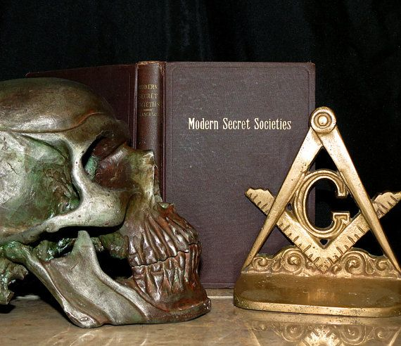 Modern Secret Societies 100 Year Old Book By CosmicLibrary