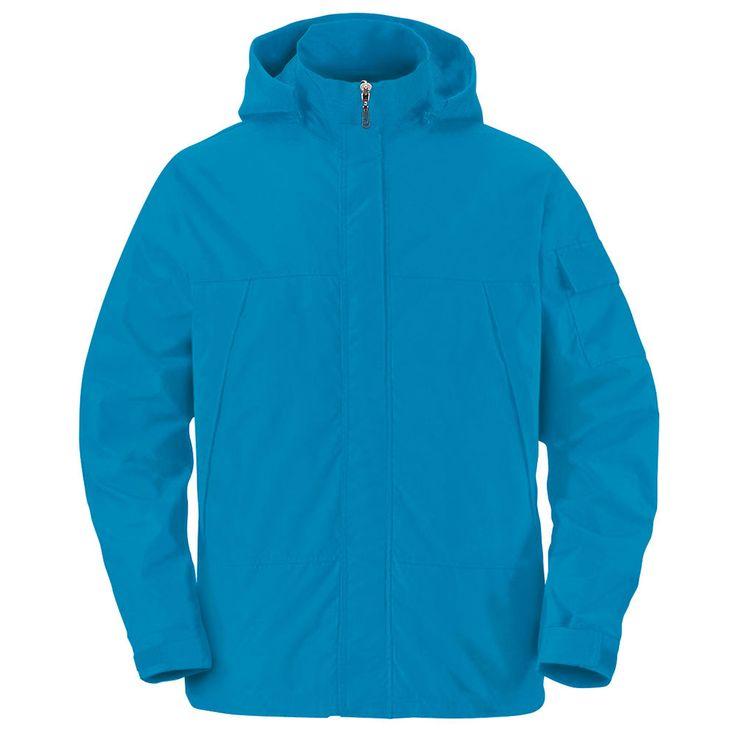 Mens Womens Windproof Waterproof Jacket Outdoor Camping Travel Hoodie Coats BLUE #hellobincom #WaterproofWindproof