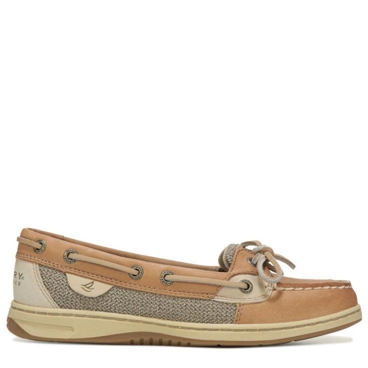Sperry Top-Sider Women's Angelfish Boat Shoes (Linen Oat)