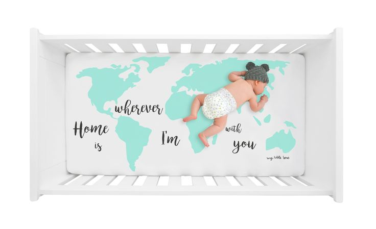 mylittlelove, crib, crib sheet, crib sheets, cot, cot sheet, cot sheets, baby spannbettlaken, babylaken, baby, nursers, mint, nurseryinspo, nursery decoration, barnrum, kinderkamer, kinderzimmerstyling, kinderzimmerdeko, babyzimmer, babyroom, love you to the moon and back, quote, quotes, gender neutral, magazine cover, instyle, magazine, interior, interiorinsp, fitted sheet, fitted crib sheet, Home is wherever I'm with you, Weltkarte, mint, Weltkarte mint, world map, world map mint