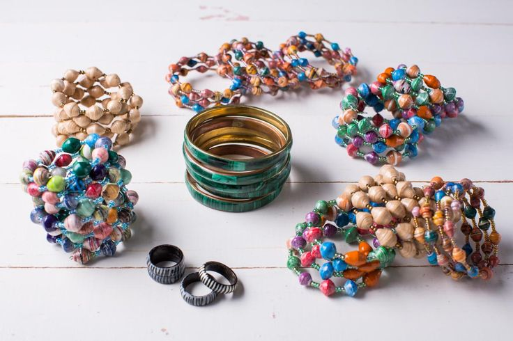 Why have one ethical bracelet when you can have many? We have plenty of colours and styles to choose from.