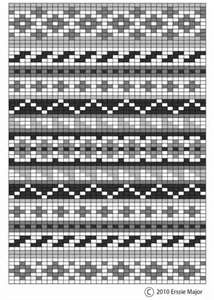 Image detail for -Fair Isle involves working two or more colors on one row of a pattern ...