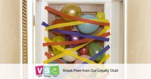 Create a Balloon Avalanche Door Surprise