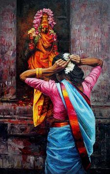 Artist Name: Iruvan Karunakaran, Title: Figure, Lot No.: 75222, Medium: Acrylic on Canvas, Size: 36X60, INR 90,000 / $ 1,623