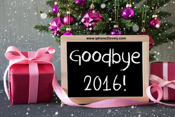 Good Bye 2016 Welcome 2017 Messages