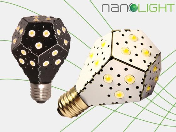 NanoLight - The world's most energy efficient lightbulb! by Gimmy Chu, Tom Rodinger, Christian Yan, via   Kickstarter.  A new LED lightbulb that is the most energy efficient on the planet. The NanoLight takes energy efficient lighting to the next level.