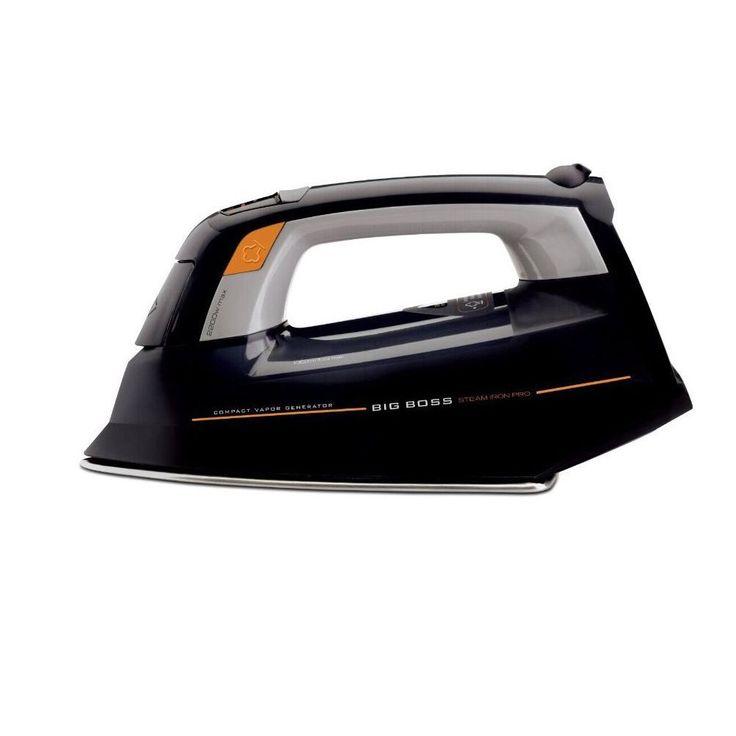 Big Boss 8819 All-in-One Low-temperature Pro Steam Iron (Pro Steam Iron - Black)