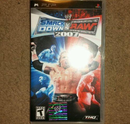 WWE SmackDown vs. Raw 2007 (Sony PSP, 2006) - http://video-games.goshoppins.com/video-games/wwe-smackdown-vs-raw-2007-sony-psp-2006/