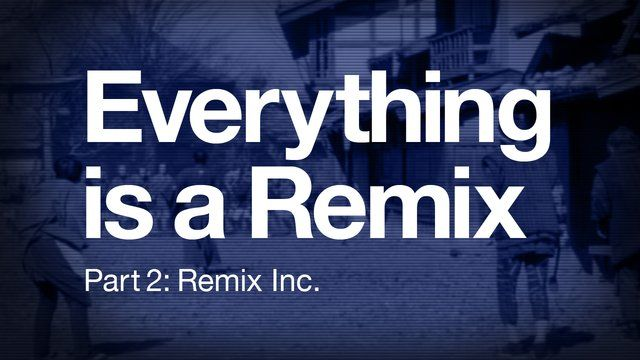 Everything is a Remix [Part 2] by Kirby Ferguson; Part 2: Remix Inc. (exploration of films); 9.48mins;   a sometimes humorous but also very interesting look at appropriation across multiple media forms