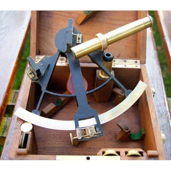 sextant de poche fran ais e lorieux p re circa 1860 antique sextant octant pinterest. Black Bedroom Furniture Sets. Home Design Ideas