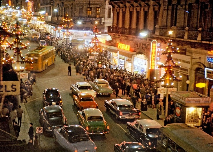 Christmas in Athens - 1960