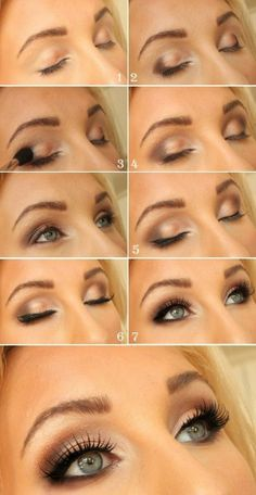 Cool makeup ideas for blue eyes (78 photos): Amazing tutorial to an everyday makeup for blue eyes
