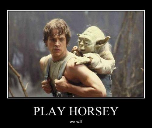 Play horsey