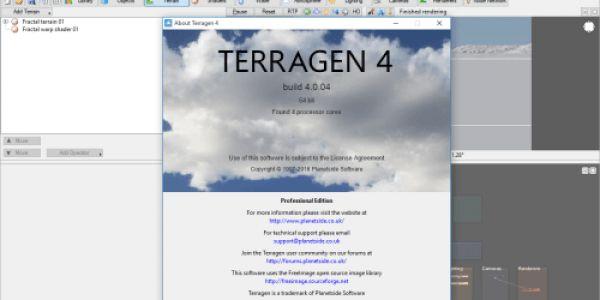 Terragen 4 Professional Crack Patch & Keygen Latest Free