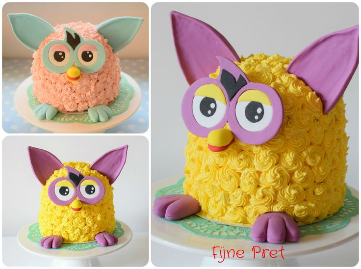 Furby cakes
