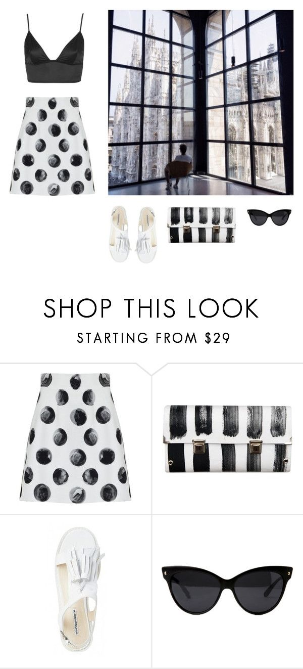 """""""From now on"""" by harbarbar ❤ liked on Polyvore featuring Dolce&Gabbana, Spanaki and Topshop"""