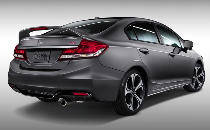 Exterior Photo of 2014 Honda Civic Si Sedan