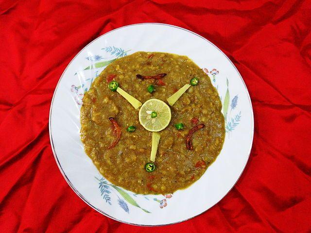 Cuisine of Karachi: Hareesa (Pakistani Snack Dish)  ھریسہ / حریسہ