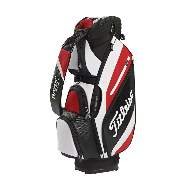 Titleist Reverse Golf Cart Bag - Great quality golf bags available now from Titleist Golf - https://www.foremostgolf.com/titleist-reverse-golf-cart-bag #GreatSecretsofGolf
