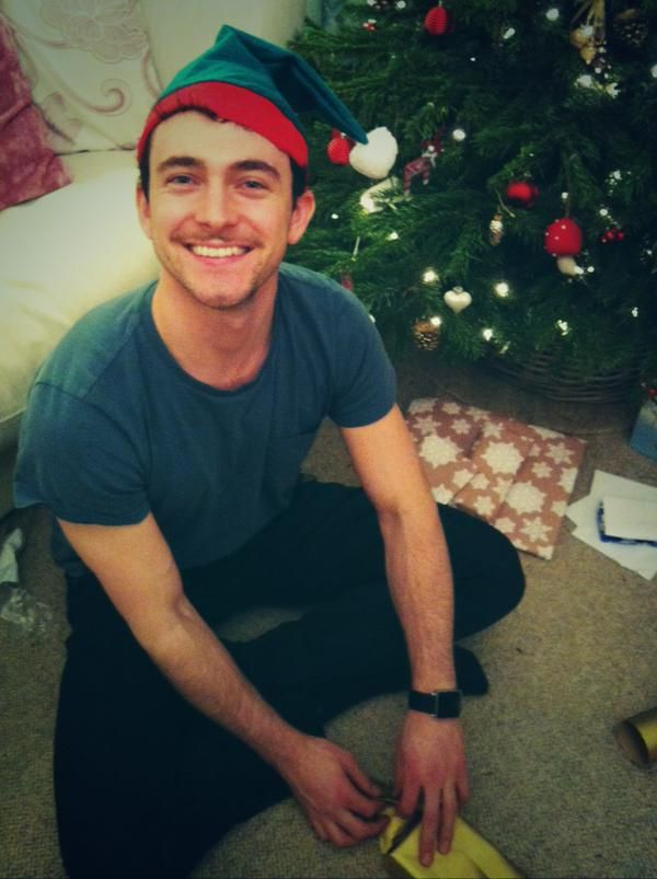 Seriously, stop it, George Blagden. Too much adorableness.