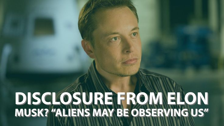 "Disclosure from Elon Musk? ""Aliens May Be Observing Us"" Speaking at World Government Summit... http://www.believe.love/3945/disclosure-from-elon-musk-aliens-may-be-observing-us-speaking-at-world-government-summit/"