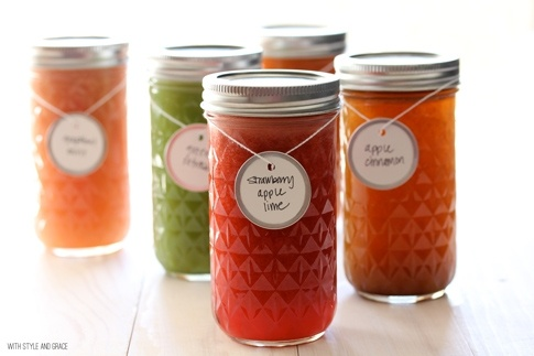 With Style & Grace // Juice Recipies // Woo Healthy! chicsprinkles