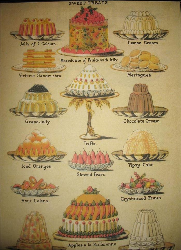 #cakes #puddings #jellies
