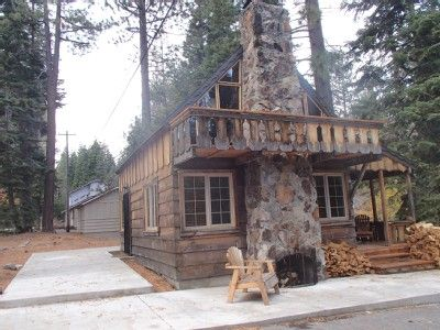 Rustic+Cabin+Rentals+Lake+Tahoe | Cozy Rustic Cabin with All of the Comforts of Home