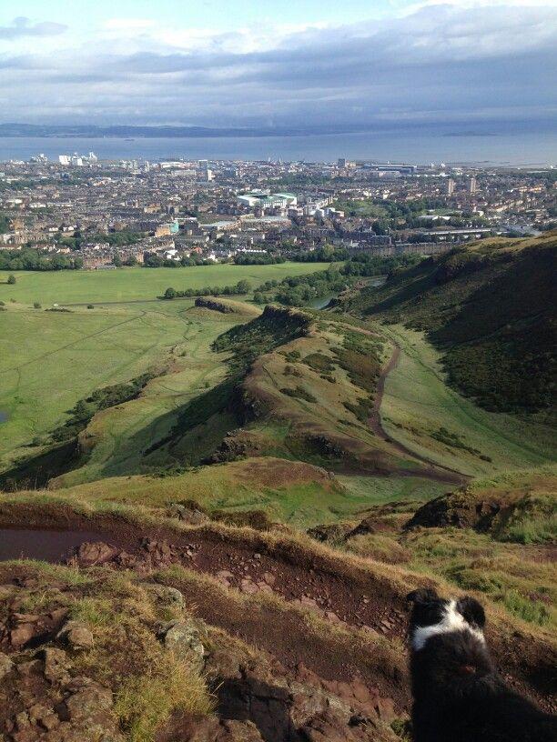 Top of Arthur's Seat, Edinburgh